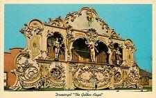 Antique Amsterdam Street Organ Holland Michigan Golden Angel Draaiorgel Postcard