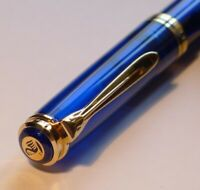 Pelikan M800 Blue Ocean fountain pen Limited Edition 2150/5000 from first owner