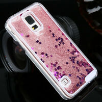 Luxury Glitter Liquid Back Phone Case Cover For Samsung Galaxy S4/S5/S6/S7 Edge