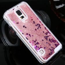 Luxury Glitter Liquid Back Phone Case Cover For Samsung Galaxy S4/S5/S6/S7 Edge