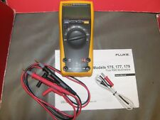 FLUKE 179 TRMS DIGITAL MULTIMETER  ACCURATE with accessories