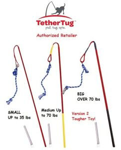 Tether Tug Outdoor Dog Toy Interactive Tugging Pull Exercise Version2