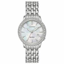 CITIZEN EW2280-58D Eco-Drive Ladies Solar Diamond Watch Luxury RRP $799.00