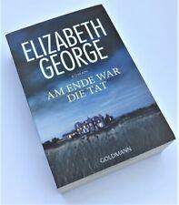 Elizabeth George, Am Ende war die Tat, Taschenbuch