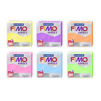 Genuine FIMO® Effect Polymer Modelling Oven Bake Clay 57g * 42 Different Colors
