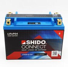 Shido LTX20 Q CNT Lithium Ionen Connect Batterie 12V (YTX20-BS, YTX20H-BS)