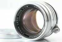 [NEAR MINT] Canon 50mm f1.8 Lens Leica Screw Mount L39 LTM Silver From JAPAN #77