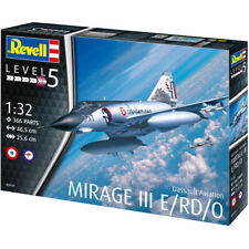 Revell Dassault Mirage III E/RD/O Jet Fighter Model Kit - Scale 1:32 - 03919