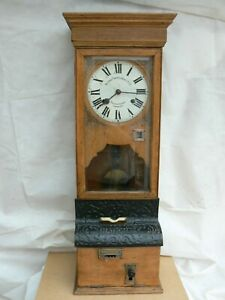 National Time Recorder Co Ltd clocking in clock