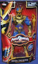 "Power Rangers Mystic Force Solaris Knight Talking 12"" Ranger New Factory Sealed"