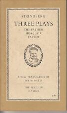 Three Plays : August Strindberg