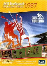 1987 GAA All Ireland Hurling Final:  Galway v Kilkenny  DVD