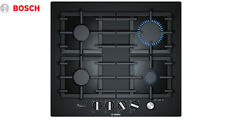 BOSCH PPP6A6B90 60cm Built-in Black Ceramic Glass Kitchen Gas Hob New!!!