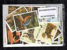Guyana 100 timbres différents