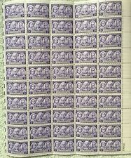 3 cent - Women 100 Years of Progress sheet of 50 stamps