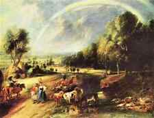 Landscape With Rainbow Rubens A2 Box Canvas Large