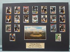 Chicago Bears led by Walter Payton are 1985 NFL Champs & Super Bowl XX Victors