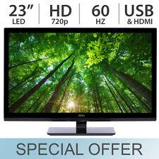 "Seiki 23"" Inch 720p HD LED LCD 60Hz TV w/ HDMI & USB SE23HEB2 - NEW"