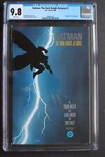 BATMAN: DARK KNIGHT RETURNS #1 Classic FRANK MILLER 1986 1st Print CGC NM/MT 9.8