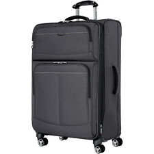"Ricardo Beverly Hills Mar Vista 28"" 4 Wheel Expandable Luggage Charcoal"