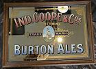 Antique 1920s Pub Mirror Ind. Coope & Cos Burton Ales Limited Trademark