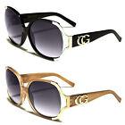 New Womens CG Sunglasses Fashion Retro Black Designer Vintage Shades Oversized