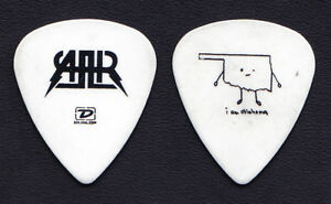 All American Rejects Nick Wheeler I Am Oklahoma White Guitar Pick - 2006 Tour