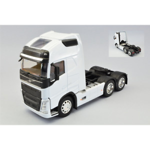 VOLVO FH 3-AXLE 2016 WHITE 1:32 Welly Camion Die Cast Modellino
