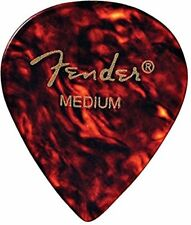 Fender 551 Classic Celluloid Shell Guitar Picks - Thin (Pack of 12)