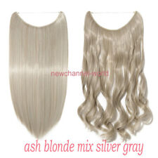 Secret Headband Wire in Natural Hair Extension Invisible As Human Hair Blonde US