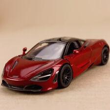 Model Car 2017 McLaren 720S Red 1:36 12cm Die-Cast Gull Wing Doors Pull-Back