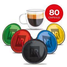 80 CAPSULE cialde caffè compatibili NESCAFE DOLCE GUSTO Caffe gusti ASSORTITI