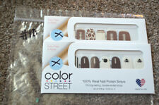 NEW Lot (2) RETIRED Color Street Sets NAIL ART- Football