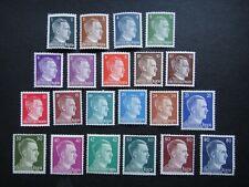 Germany Nazi 1941 - 1944 Stamps MNH Adolf Hitler Third Reich Deutschland German
