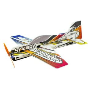 "EPP SAKURA 3D Airplane 16.5"" (420MM) Wingspan Micro F3P airplane"