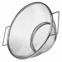 Stainless Steel Vegetable Sieve Colander Fine Mesh Strainer Bowl Drainer Sifter