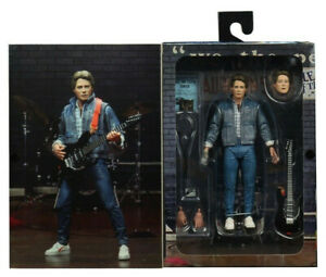 """Back to the Future Marty McFly Audition Ultimate Edition 7"""" 18cm Figur Neca"""