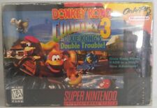 Donkey Kong Country 3 Dixie Kong's Double Trouble Super Nintendo SNES CIB in Box