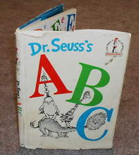 Dr. Seuss ABC - HB/DJ 1963 vintage Beginner Book B-30