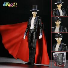 "Cool ! Sailor Moon Tuxedo Mask 17cm/6.8"" Pvc Figure New In Box"