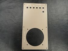 "BLANK ENGINE BATTERY / BREAKER PANEL TAN 7 1/2"" X 14"" MARINE BOAT"