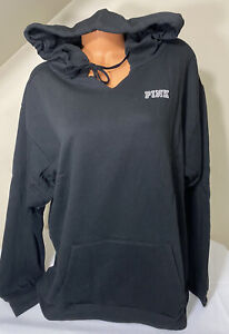 NWT Victorias Secret PINK Graphic Pullover Hooded Sweatshirt Size XL