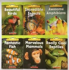 Animals Lot 6 Science Leveled Readers Levels J-K Learn to Read Kids Books NEW