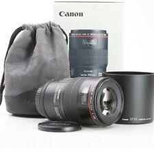 CANON EF 100 f/2.8 L IS USM Macro  🏠 for R* +Mark ii EOS, Full Frame +WARANTY