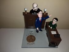 """Reynolds Toys Limited Edition Bank """"Lawyer Bank"""" from 2001, #29 of only 50 made!"""