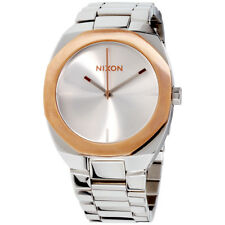 Nixon Catalyst Silver Dial Stainless Steel Ladies Watch A918230900