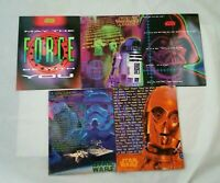 MEAD Star Wars Portfolio Folders Lot of 5 Vintage 1996 School Set NEW