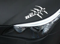 Limited Edition The Beast  Aufkleber Monster Raubtier Sticker Tuning JDM OEM
