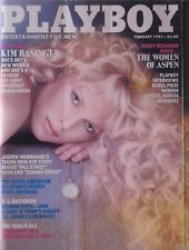 KIM BASINGER February 1983 PLAYBOY Magazine E.L. DOCTOROW / WOMEN OF ASPEN / +++