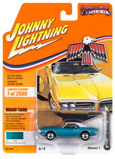 2020 Johnny Lightning *MUSCLE CARS USA 1B* Turquoise 1968 Pontiac Firebird NIP